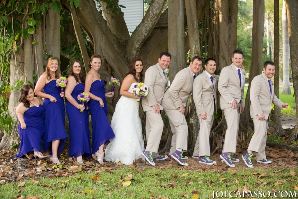 silly bridal party photos