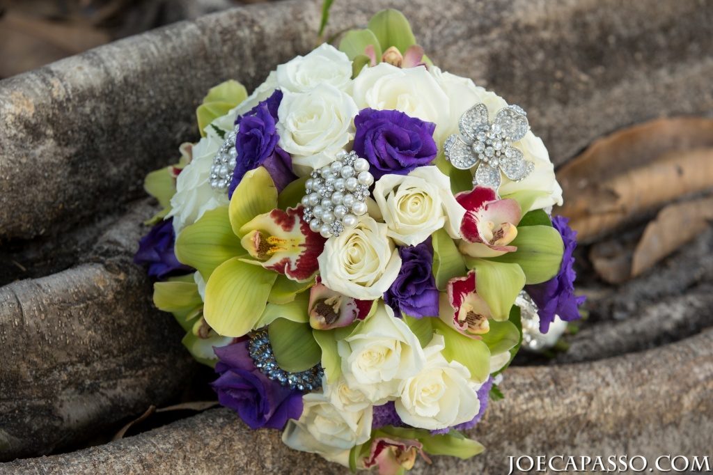 tropical broach bouquet