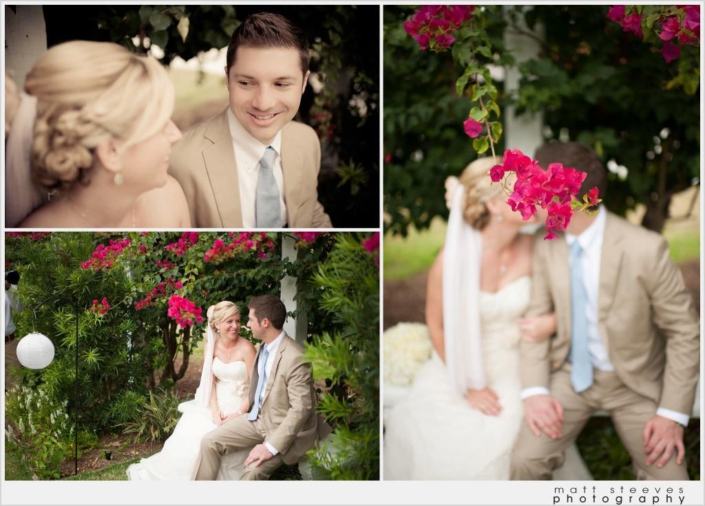home weddings garden