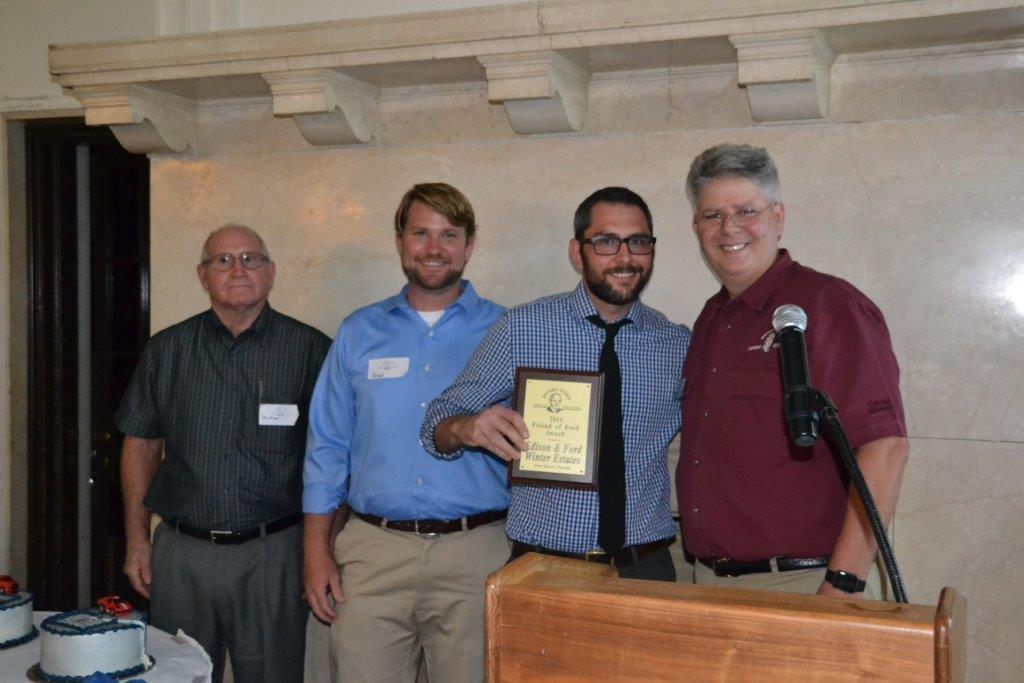 Mike, Brent, James award for EFWE