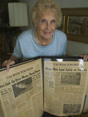 Mrs Koelber historic newspapers
