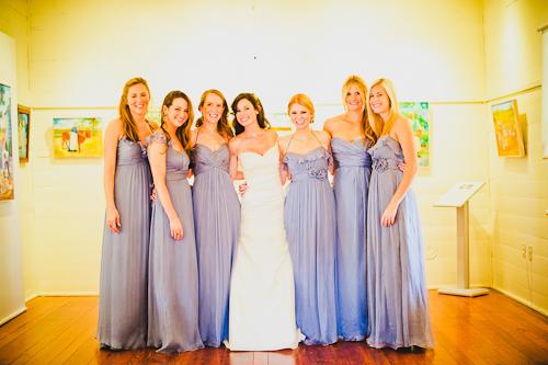 light blue periwinkle purple amsale bridesmaid dresses