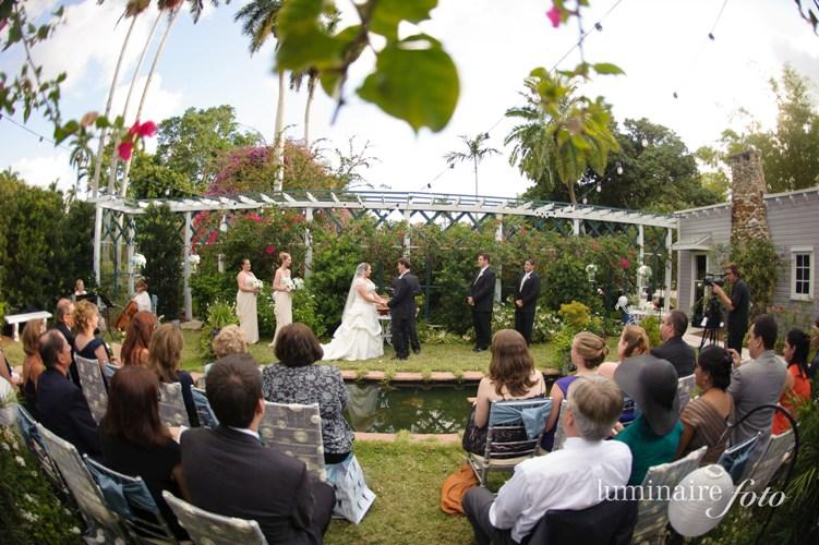 moonlight garden wedding florida ceremony venue vintage