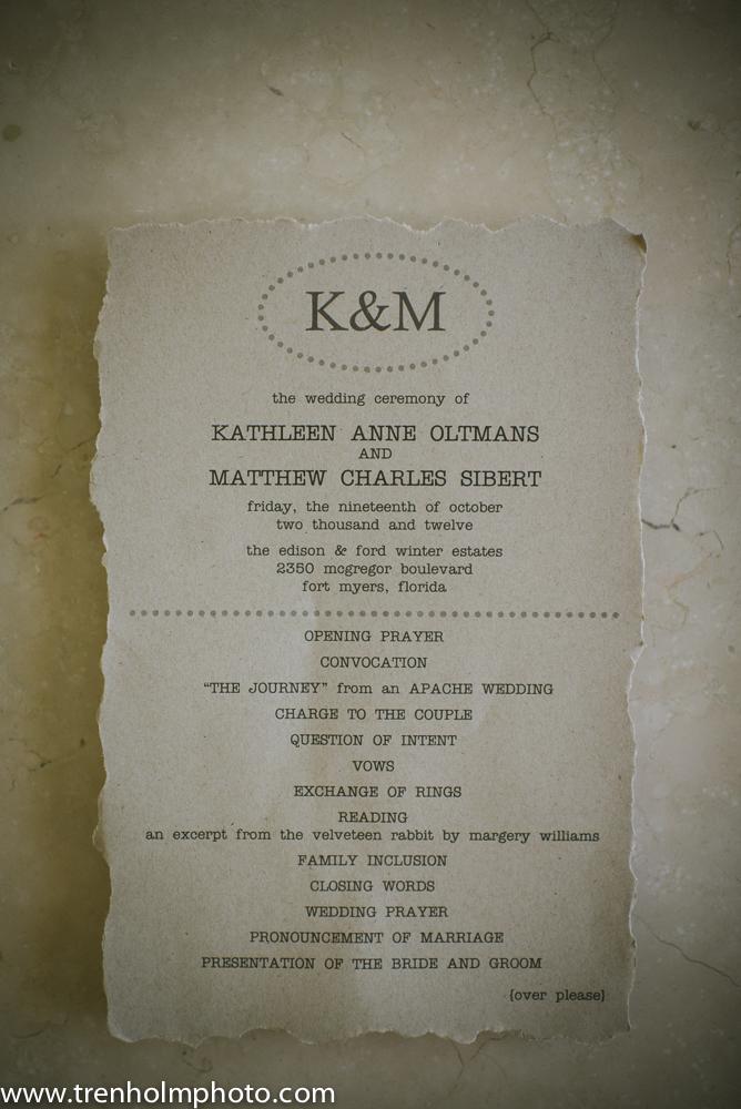 rustic wedding invitation typewriter font