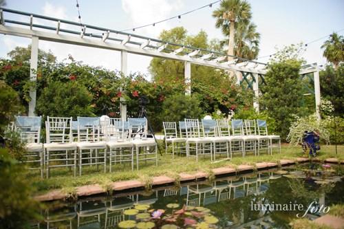silver wedding chairs chivaris garden wedding ceremony moonlight