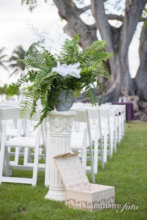 wedding programs columns flowers edison ford fort myers
