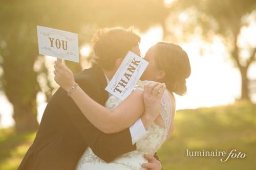 wedding thank you photos cards ideas signs diy
