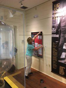 DC AC Exhibit Installation In Progress